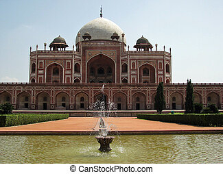 Mughal Emperor Humayuns tomb in New Delhi, India
