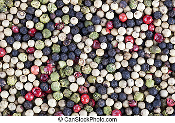 Connoisseur Peppercorns - Mixture of white green red and...
