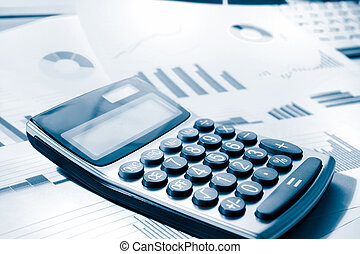 calculator and graphs dutone for business performance -...