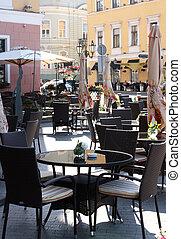 open air cafe - open air city cafe