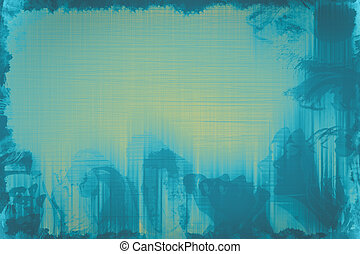 Abstract surrealistic colorful background.