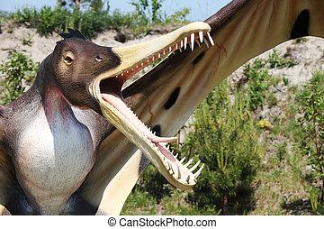 Dinosaur - Cearadaktyl (Ptrodactyloidea, Pterosauria -...