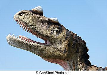 Dinosaur - Ceratozaur (Theropoda, Creatosauria -...