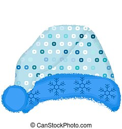 winter hat - a pretty and colorful winter hat