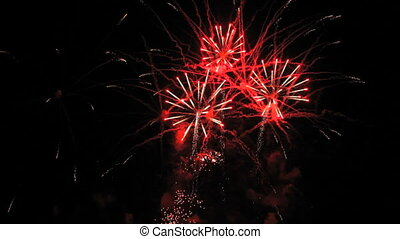 Magnificent fireworks - Very beautiful and colorful...