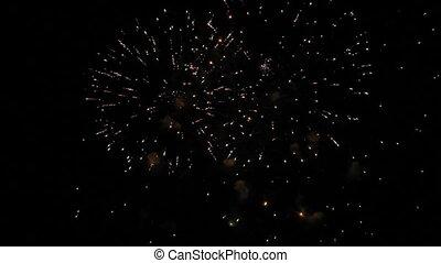 Massive fireworks