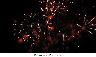 Breathtaking fireworks - Very beautiful and colorful...
