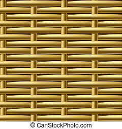 Seamless wicker pattern