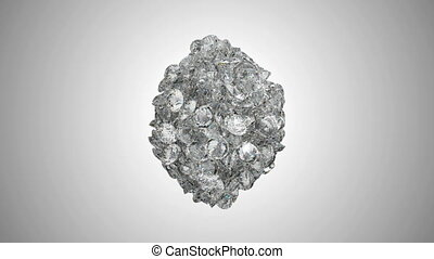 Diamonds orb blast or scatter,Alpha - Diamonds orb blast or...