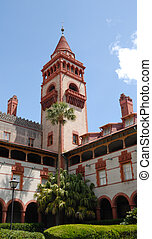 Flagler College St Augustine - architecture of Flagler...