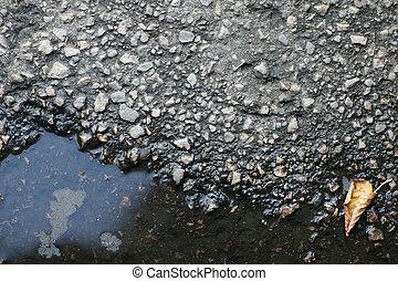 asfalto, pavimento, textura, Plano de fondo