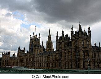 London Parliment building.