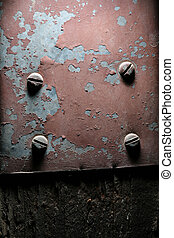 Weathered metal background texture