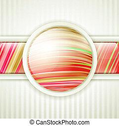 round button frame