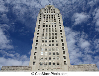 Louisiana State Capital building. Tallest state capital in...