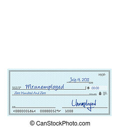 Unemplyment cheque on 4th july