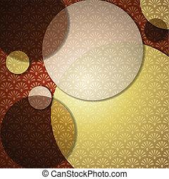 Elegant Art Deco Background - Elegant patterned background...