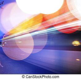 trafik, bakgrund