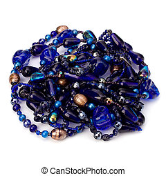 colourful glass beads