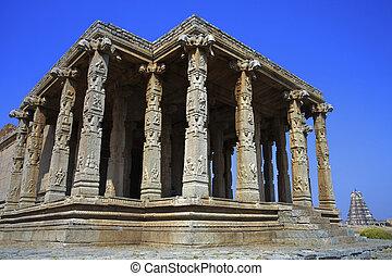 Hampi-, templo