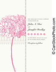 Vector Pink Floral Background Easy to edit Perfect for...