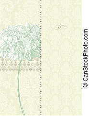 Vector Two Part Floral Background Easy to edit Perfect for...