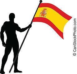 FLAG BEARER_SPAIN