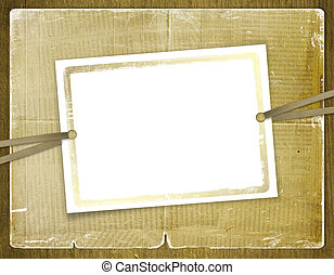 Framework for invitations Abstract background