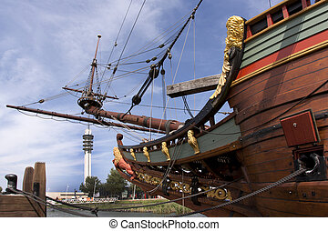 Reconstruction of the VOC ship The Batavia