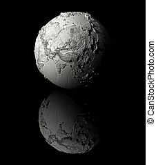 White Globe - Asia