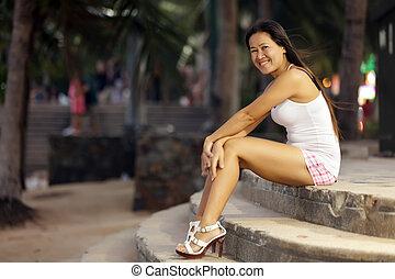 Asiatico, prostituta