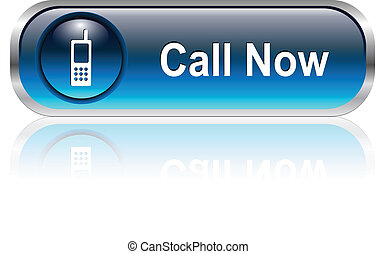contact us icon, button - Contact us, call telephone icon,...