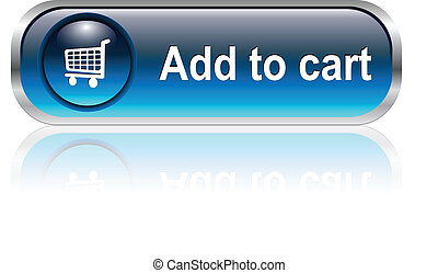 shopping cart icon, button - Shopping cart, buy icon button,...
