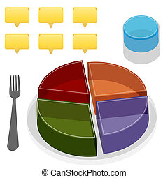 Food Plate Guide - An image of a food plate guide