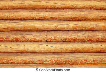 Log house texture as a grunge  background