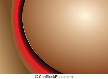 Abstract background brown red - Abstract background with...