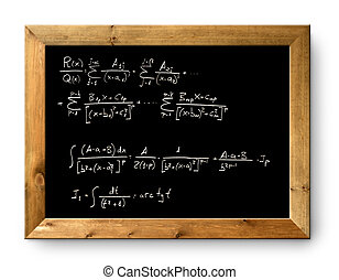 board black blackboard difficult formula math - board black...
