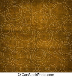 Abstract brown background with circles Soft furnishings