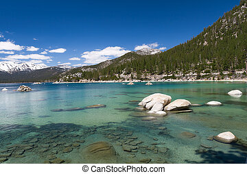Lake Tahoe shallow water