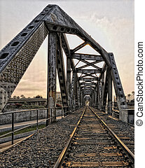 Train Trestle in Ventura