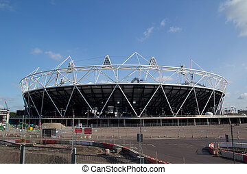 2012 Olympic Stadium - LONDON- MAY 31: London Olympic 2012...