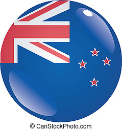 button in colors of New Zealand