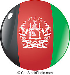 button in colors of Afghanistan