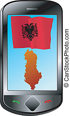 connection with Albania