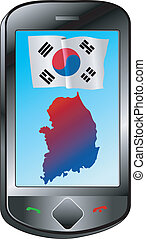 connection with South Korea