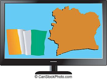 Cote d\'Ivoire on TV