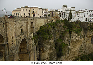 Ronda is a old city in Andalucia Spain