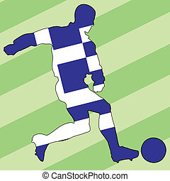 football colors of Greece