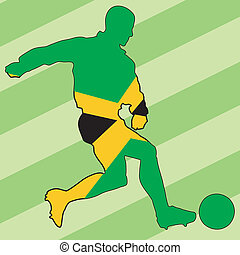 football colors of Jamaica