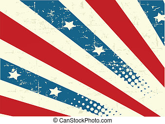 Patriotic Background - Illustration of patriotic background...